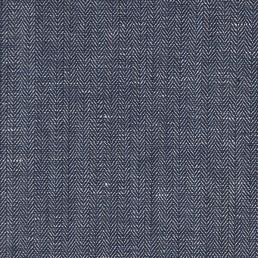 10. Blue herringbone twill
