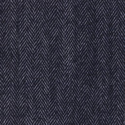23. Blue herringbone tweed