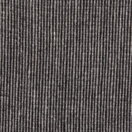 24a. Grey-black thin vertical line tweed