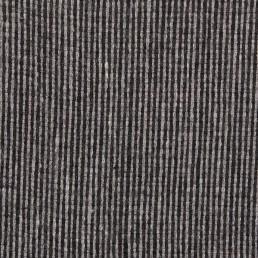 24a. Grey-black thin vertical line tweed
