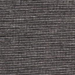 24b. Grey-black thin horizontal line tweed