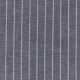 37. Blue-white pinstriped cotton