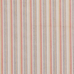 39. Multi-colored striped cotton