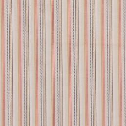 39. Multi-colored striped cotton