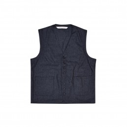 Qora1 waistcoat by sustainable clothing brand Lanefortyfive
