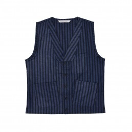 Sven waistcoat by sustainable clothing brand Lanefortyfive