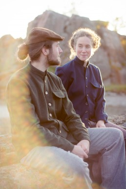 LaneFortyfive Unisex, hand-made clothing label London based | Anton & Olivia