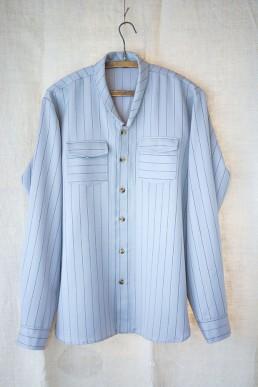 Aska | LaneFortyfive Open front shirt