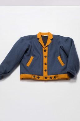 Unisex short woollen jacket lanefortyfive