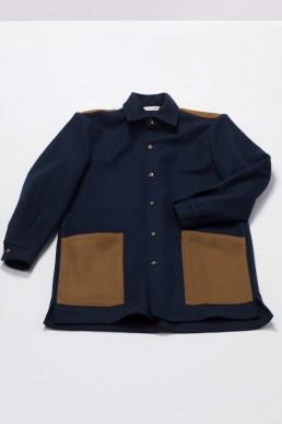 Lanefortyfive woollen overshirt