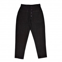Preto1 trousers by sustainable clothing brand Lanefortyfive