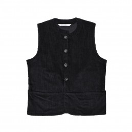Qora2 waistcoat by sustainable clothing brand Lanefortyfive