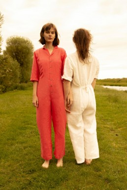 Linen boilersuit by Lanefortyfive