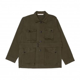 Dilacio2 jacket by sustainable clothing brand Lanefortyfive