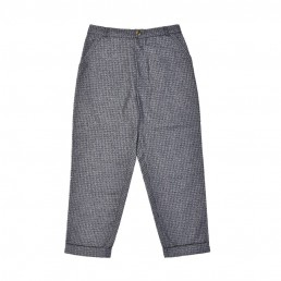 CT04/ Slim up-turned trousers