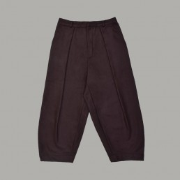CT01/ Pleated bag trousers