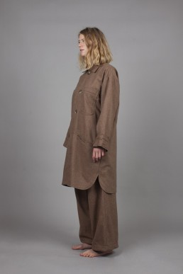 CJ02/ Long coat lookbook lanefortyfive