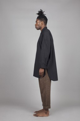 CS01/ Long shirt lookbook lanefortyfive