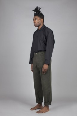 CT03/ Pipe trousers Lanefortyfive