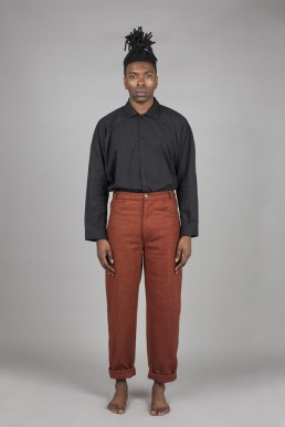 CT03/ Pipe trousers lookbook Lanefortyfive
