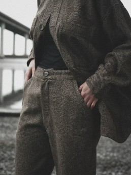 Tweed trousers Lanefortyfive