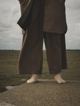Pleated wide trousers Lanefortyfive