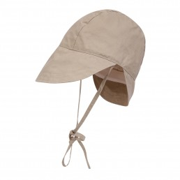The Bonnet in beige waxed cotton Lanefortyfive