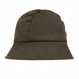 Fisherman hat in olive moleskin Lanefortyfive