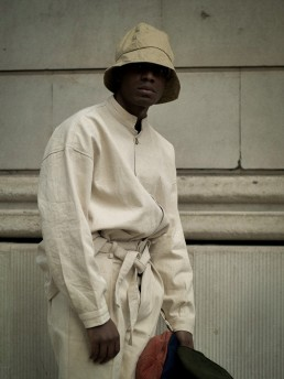 Verona trousers Enter hoodlums Lanefortyfive sustainable ethical clothing