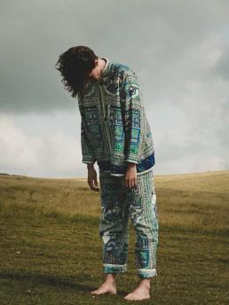 Itan 2 trousers lanefortyfive blockprinted